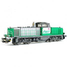96479 Locomotive diesel BB 60054 livrée FRET avec logo carmillon