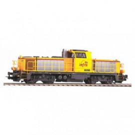 P96483 Locomotive diesel BB 660168 livrée INFRA