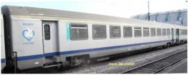 P97074 Voiture Corail 2.Cl B10u SNCF - TER région Centre