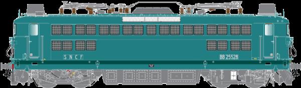 41044 Locomotive BB25528 Dôle Sncf ép IV -R37