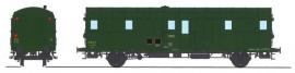 VB-318 FOURGON OCEM 32 vert 306, 3 feux REGION SUD-OUEST SNCF N°49816