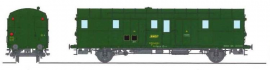 VB-319 FOURGON OCEM 32 vert 301, 3 feux REGION EST SNCF N°50 87 93-20 135-3