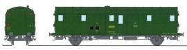 VB-321 FOURGON OCEM 32 vert 301, 3 feux REGION OUEST SNCF N°50 87 93-20 113-0
