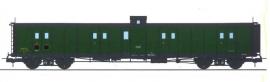 VB-349 FOURGON ex-PLM, vigie, échelle, toit et bouts noirs, vert 306 SNCF N°24578
