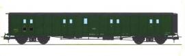 VB-352 FOURGON ex-PLM, toit noir, vert 306 SNCF N°58803