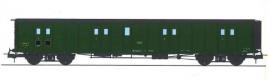 VB-360 FOURGON ex-PLM, toit et bouts noirs, petits marchepieds, vert 306 SNCF N°58847
