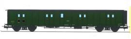 VB-361 FOURGON ex-PLM, toit et bouts noirs, petits marchepieds, vert 306 SNCF N°58831