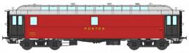 VB-247 Ambulant OCEM 16 m PAmyi rouge foncé, toit gris clair, Bogie Y2, N° 45907