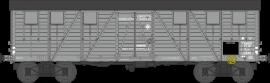 WB-518 Wagon COUVERT TP 2 Portes Ep.II PLM Kwy 113019
