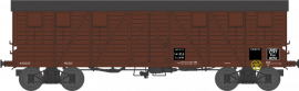 WB-519 Wagon COUVERT TP 2 Portes Ep.II ETAT Kwy 81252