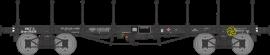 WB-514 Wagon plat TP ranchers longs Ep III B SNCF Qrywv 181256