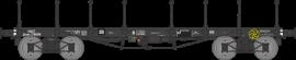 WB-515 Wagon plat TP ranchers longs Ep III B SNCF Qrywv 178096
