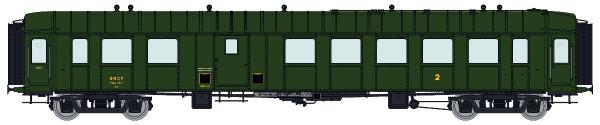 VB-270 Voiture OCEM RA 3ème classe/fourgon B4Dmyi SNCF