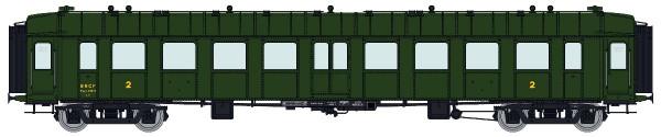 VB-271 Voiture OCEM RA 2ème classe B9myfi SNCF