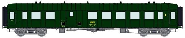 VB-272 Voiture OCEM RA 3ème classe/fourgon B4D SNCF