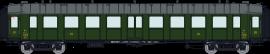 VB-279 Set de 3 voitures OCEM RA C9yf 1250/11207 3°CL & C4DYI 11906 3°CL Mixte/Fourgon AL
