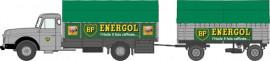 CB-107 Camion Willeme Bâché + remorque bâché ENERGOL
