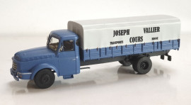 "CB-102  Camion Willeme Bâché ""Joseph Vallier – Transport Cours"""