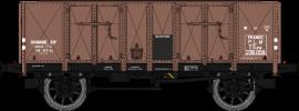 WB-477 Set de 2 tombereaux Ocem 29 rouge sideros PLM