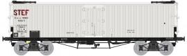WB-579 Wagon TP FRIGO Origine à Trappes à glace PLM STEF (avec essieux Griffin)