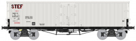 WB-580 Wagon TP FRIGO Origine à trappes à glace, SNCF STEF