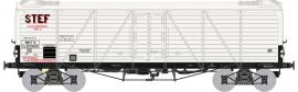 WB-582 Wagon TP FRIGO Reconstruit, Trappes à glace SNCF STEF