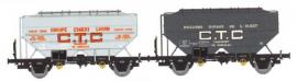 WB-552 Set de 2 wagons CTC Ep.III ESMERY-CARON et MAGASIN RURAUX DE L'OUEST