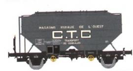 WB-554 Wagon céréalier RICHARD CTC Ep.III MAGASIN RURAUX DE L'OUEST