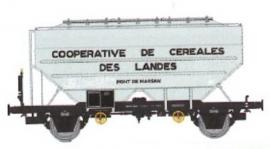 WB-556 Wagon céréalier RICHARD Ep.III COOPERATIVE DE CEREALES DES LANDES