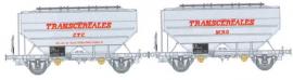 WB-559 Set de 2 wagons Ep.IV TRANSCEREALES CTC et MRO