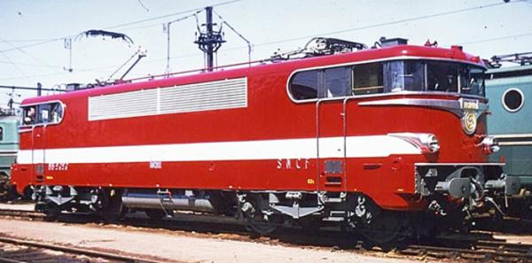 MB082 LOCOMOTIVE ELECTRIQUE BB 9288 LIVREE ROUGE CAPITOLE SNCF