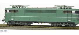 MB081 LOCOMOTIVE ELECTRIQUE BB 9267 LIVREE ORIGINE VERTE LYON-MOUCHE PLAQUE MISTRAL SNCF