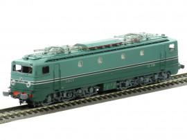MB-056.S Locomotive électrique CC 7114 livrée d'origine Sud-Ouest du dépôt de Paris SO