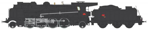 MB-126  LOCOMOTIVE A VAPEUR 4-141 F 309 PERIGUEUX SNCF