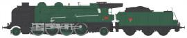 MB-127S LOCOMOTIVE A VAPEUR 4-141 E 425 MONTLUCON SNCF