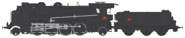 MB-128S LOCOMOTIVE A VAPEUR 5-141 E 234 GRENOBLE SNCF