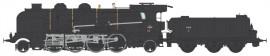 MB-129 LOCOMOTIVE A VAPEUR 6-141 E 458 VEYNES SNCF