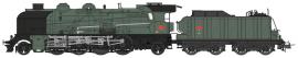 Locomotive 141 E 672 Ales Sncf ép III-HO-1/87-REE MB-052S