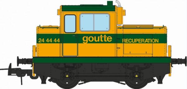 MB-125S MOYSE 32 TDE, INDUSTRIEL Ex-SNCF Ferrailleur « GOUTTE » Lausanne