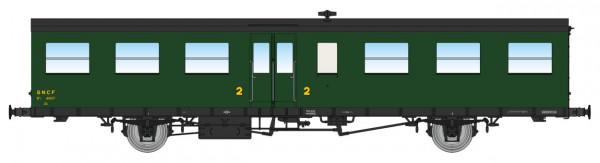 VB-240  Coffret 3 Voitures Sud-Ouest, porte-lanternes anciens ( 2xB6t/1xB3C3t ) – Epoque III-B