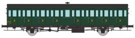 VB-289 Voiture à portières latérales 15 mètres SNCF ex MIDI 3ème classe