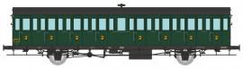 VB-292 Voiture à portières latérales 15 mètres SNCF ex MIDI 2ème classe