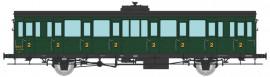 VB-293 Voiture à portières latérales 15 mètres SNCF ex P.O 2ème classe