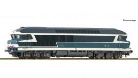 73004 Locomotive diesel CC 72085 livrée bleue à plaques avec logo rond