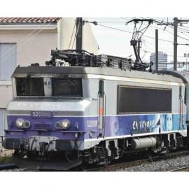 73879 Locomotive électrique BB 22200 livrée En Voyage avec logo carmillon