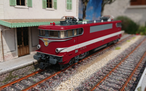 73397 - Locomotive électrique BB 9278 CAPITOLE, SNCF