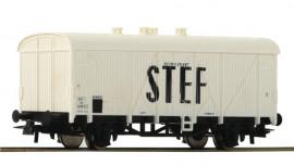 56172 Wagon couvert à essieux livrée STEF