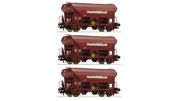 76033 Coffret 3 Wagons à toit basculant de la SNCF