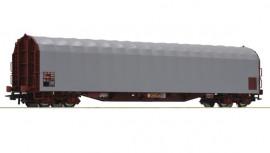 76471 Wagon baché à bogies livré gris
