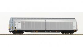 76484 Wagon parois coulissantes à bogies livrée gris